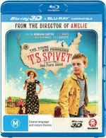 The Young and Prodigious T.S Spivet : (3D Blu-ray / Blu-ray) - Helena Bonham Carter