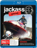 Jackass 3 (2 Disc Uncut / Theatrical Versions) - Dave England
