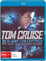 Top Gun / Collateral / The Firm / War of the Worlds (2005) / Days of Thunder (Tom Cruise Blu-Ray Collection) (5 Discs) - Dakota Fanning