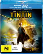 The Adventures of Tintin : The Secret of the Unicorn (2011) (3D Blu-ray/Blu-ray) (2 Discs) - Nick Frost
