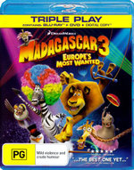 Madagascar 3 : Europe's Most Wanted (Blu-ray/DVD/Digital Copy) - Ben Stiller