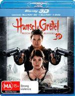 Hansel and Gretel : Witch Hunters (3D Blu-ray/Blu-ray) - Jeremy Renner