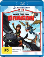 How To Train Your Dragon (3D Blu-ray/Blu-ray) (2 Discs) - Jay Baruchel