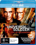 Universal Soldier 4 : Day of Reckoning (3D Blu-ray/Blu-ray/DVD) (2 Discs) - Andrei Arlovski