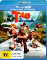 Tad : The Lost Explorer (3D Blu-ray/Blu-ray) - Carles Canut