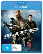 G.I. Joe : Retaliation (2013) (3D Blu-ray/Blu-ray/DVD) (3 Discs) - D.J. Cotrona