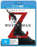 World War Z (3D Blu-ray/Blu-ray/DVD) - Brad Pitt