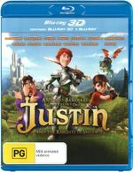 Justin and the Knights of Valour (3D Blu-ray/Blu-ray) - Freddie Highmore