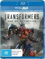 Transformers : Age of Extinction (3D Blu-ray / Blu-ray / Digital Copy) - Mark Wahlberg
