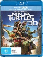 Teenage Mutant Ninja Turtles (2014) (3D Blu-ray/Blu-ray) - Alan Ritchson
