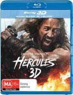 Hercules : 3D Blu-ray/Blu-ray - Dwayne Johnson