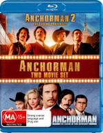 Anchorman 2 : The Legend Continues / Anchorman: The Legend of Ron Burgundy (Two Movie Set) - Will Ferrell