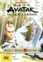 Avatar The Legend of Aang : Book 1 Water - Volume 3