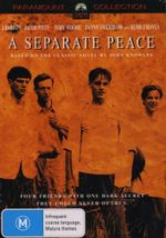 """finnys signs of immaturity in a separate peace a novel by john knowles At the end of the novel,  """"a separate peace"""", by john knowles,  innocence was lost there and those thoughts were his first signs of."""