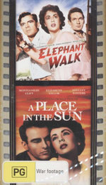 Elephant Walk/A Place In The Sun : 2 Movies, 2 Discs - Dana Andrews