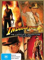 Indiana Jones Complete Collection (Raiders of the Lost Ark / Temple of Doom / Last Crusade / Kindom of the Crystal Skull) - Harrison Ford
