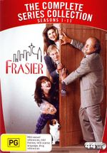 Frasier : The Complete Series Collection - Seasons 1 - 11 Box Set (44 Discs) - Kelsey Grammer