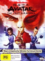 Avatar The Legend of Aang : Book 1 Water - Complete Collection