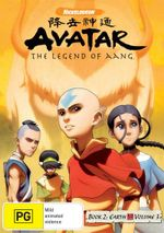 Avatar The Legend of Aang : Book 2 Earth - Volume 3