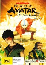 Avatar The Legend of Aang : Book 2 Earth - Volume 4