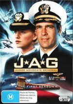 JAG : Season 1 - David James Elliott