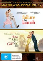 Failure to Launch / How to Lose a Guy in 10 Days (Matthew McConaughey) : 2 Movie Set - Matthew McConaughey