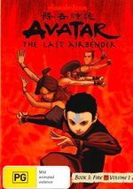 Avatar The Last Airbender : Book 3 Fire - Volume 1