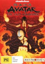 Avatar The Last Airbender : Book 3 Fire - Volume 3