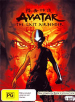 Avatar The Last Airbender : Book 3 Fire - Complete Collection - N/A