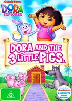 Dora the Explorer : Dora and the Three Little Pigs - Jake Burbage