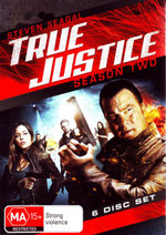 True Justice : Season 2 (True Justice: Vengeance is Mine / Blood Alley / Violence of Action / Angel of Death / Dead Drop / One Shot, One Life) - William Big Sleeps Stewart