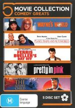 Ferris Bueller's Day Off / Planes, Trains and Automobiles / Pretty in Pink / The Golden Child / Wayne's World (Comedy Greats 5 Movies) - J.L. Reate