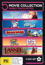 Charlotte's Web / The Cat in the Hat (Dr Seuss) / Barnyard / The Rugrats Movie / Lassie : Best Friends Are Forever (5 Family Movies) - Kevin James