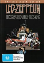 Led Zeppelin : The Song Remains the Same (2 Disc Deluxe Edition)