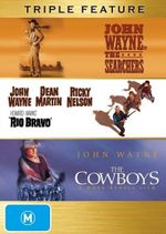 Rio Bravo / The Cowboys / The Searchers (John Wayne) - Walter Brennan