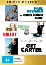 Bullitt / Cool Hand Luke / Get Carter (Essential Kings of Cool) - Paul Newman