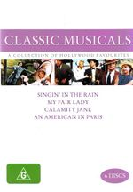An American in Paris / Calamity Jane /  My Fair Lady / Singin' in the Rain (Classic Musicals) (6 Discs)