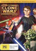 Star Wars : The Clone Wars - Season 1 - Volume 1 - James Arnold Taylor