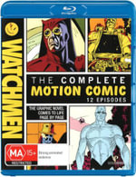Watchmen : The Complete Motion Comic - Jake Strider Hughes