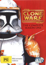 Star Wars : The Clone Wars - Season 1 (4 Discs) - Matt Lanter