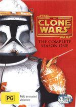 Star Wars : The Clone Wars - Season 1 (4 Discs) - Matt Lanter
