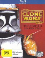 Star Wars : The Clone Wars - Season 1 (3 Discs) - Tom Kane