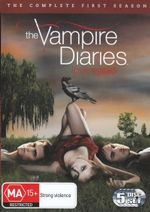 The Vampire Diaries : Season 1 (5 Discs) - Nina Dobrev