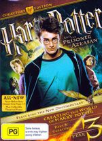 Harry Potter and the Prisoner of Azkaban (3 Disc Collector's Edition) : Harry Potter : Film 3 - Daniel Radcliffe