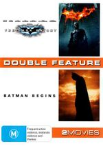 The Dark Knight / Batman Begins  : 2 Discs - Christian Bale