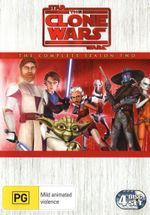 Star Wars : The Clone Wars - Season 2 (4 Discs) - Tom Kane