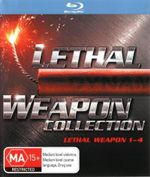 Lethal Weapon Complete Collection (1 - 4 Boxset) - Rene Russo