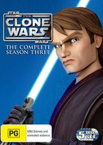 Star Wars : The Clone Wars - Season 3 (5 Discs) - Matt Lanter
