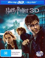 Harry Potter and the Deathly Hallows - Part 1 (3D Blu-ray/Blu-ray) (3 Disc) - Daniel Radcliffe