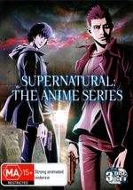 Supernatural : The Anime Series (3 Discs) - Andrew Farrar